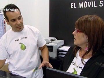 Javier, dependiente de una tienda de Yoigo en 'El Jefe Infiltrado'