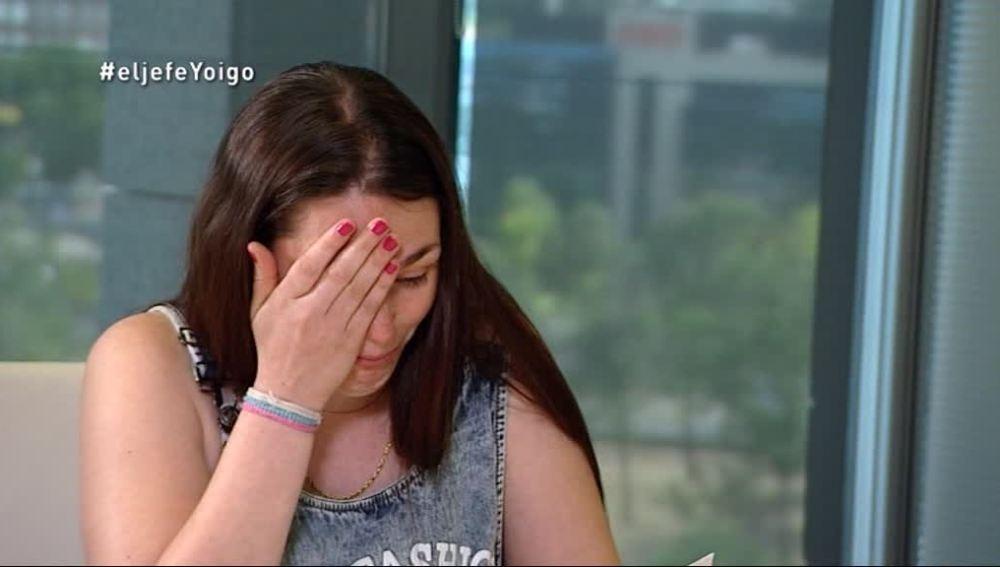 Patricia, en la hora de la revelación de 'La Jefa Infiltrada' de Yoigo