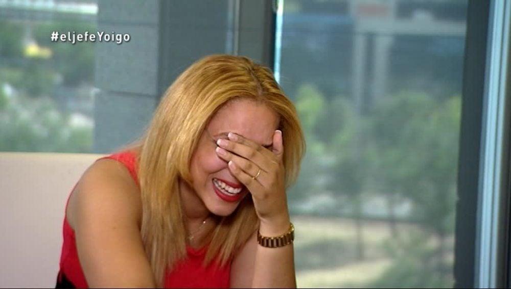 Jenny, en la hora de la revelación de 'La Jefa Infiltrada' de Yoigo