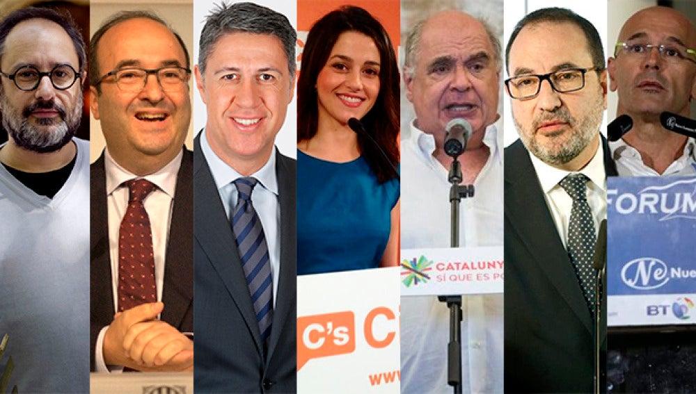 Las caras del debate en laSexta de cara a las elecciones del 27S
