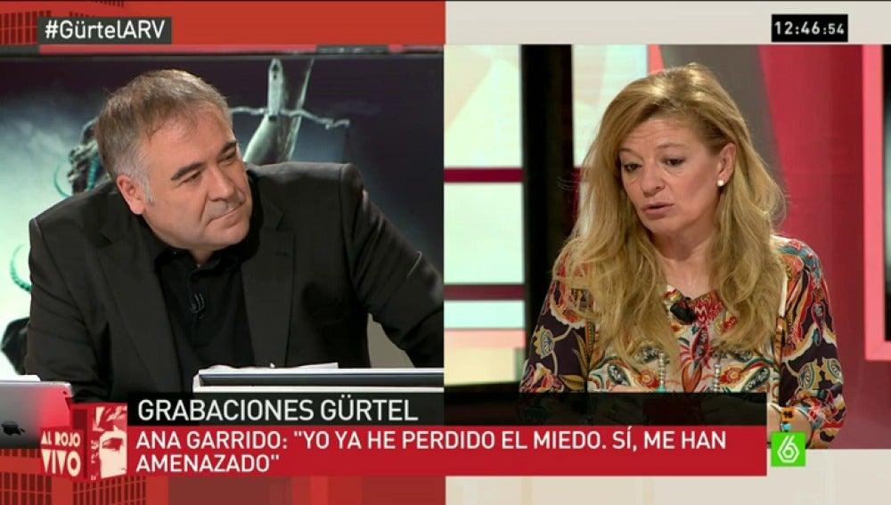 Antonio Ferreras entrvista a Ana Garrido