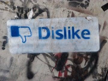 """Botón de """"no me gusta"""" de Facebook"""