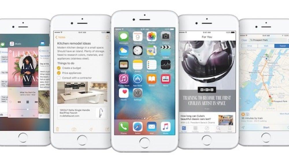 iOS9 en iPhone