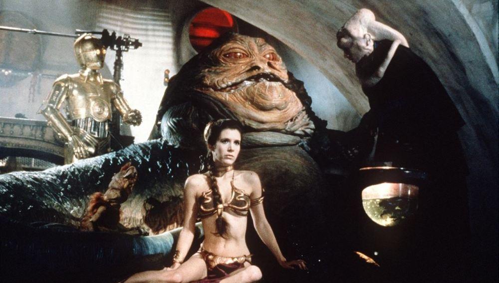 La princesa Leia en 'El retorno del Jedi'