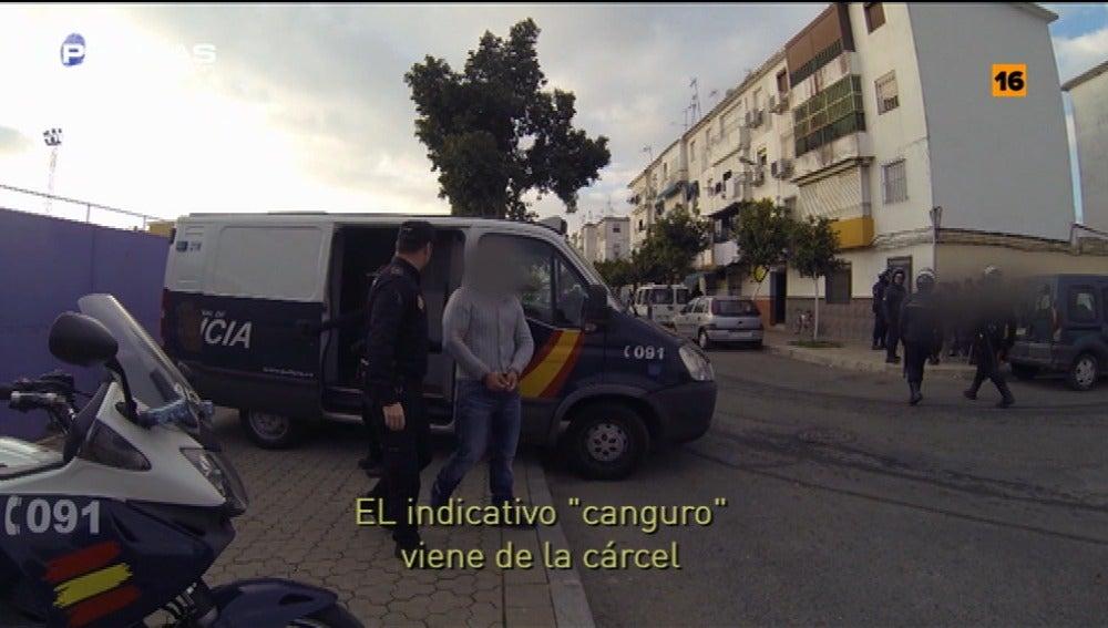 'Policías en acción', en el traslado de detenidos desde las cárceles