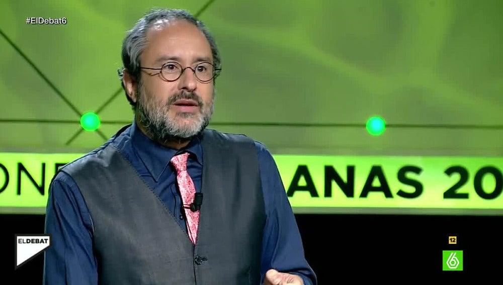 Antonio Baños en 'El Debat' de laSexta