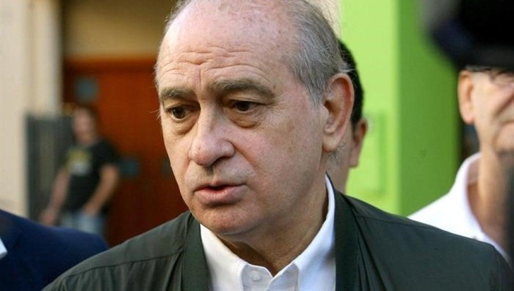 El ministro de Interior, Jorge Fernández Díaz, en Vendrell