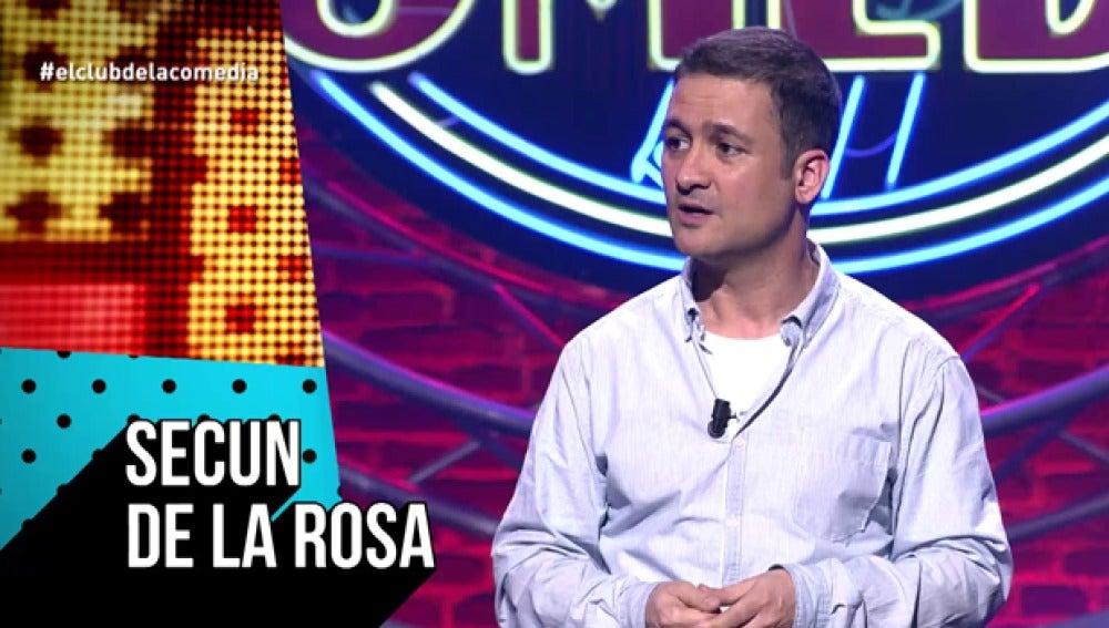 Secun de la Rosa, en 'El Club de la Comedia'