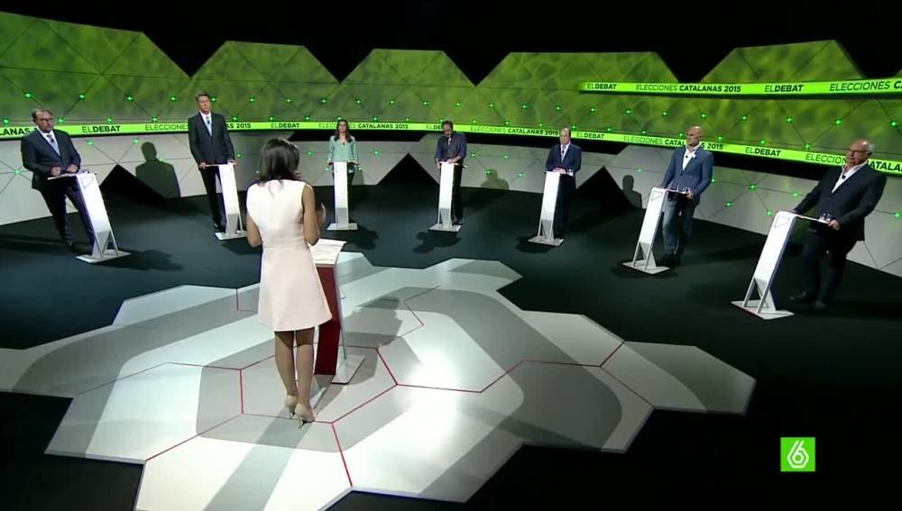 'El Debat' de laSexta calienta la última semana de campaña electoral en Cataluña
