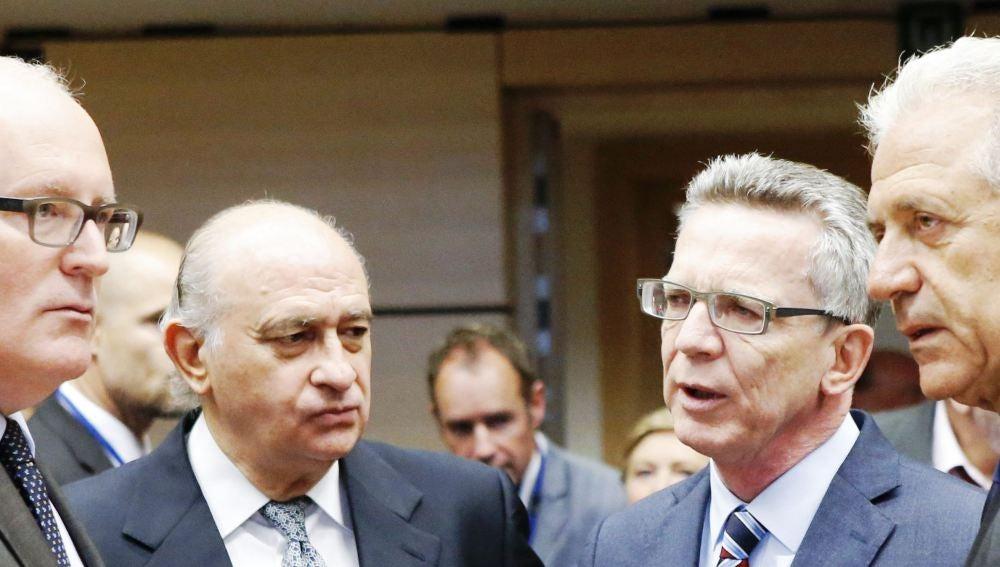 Reunión de ministros del Interior y Justicia de la UE para tratar el reparto de refugiados