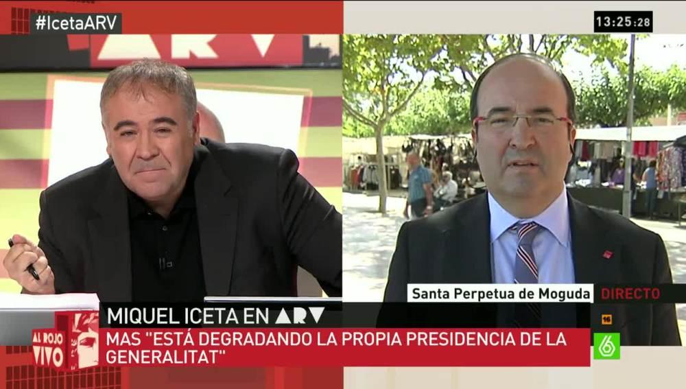 Miquel Iceta en ARV