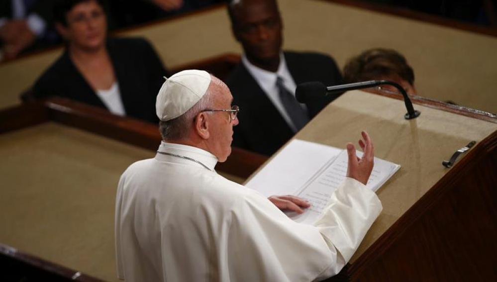 Discurso del papa Francisco en el Congreso de Estados Unidos