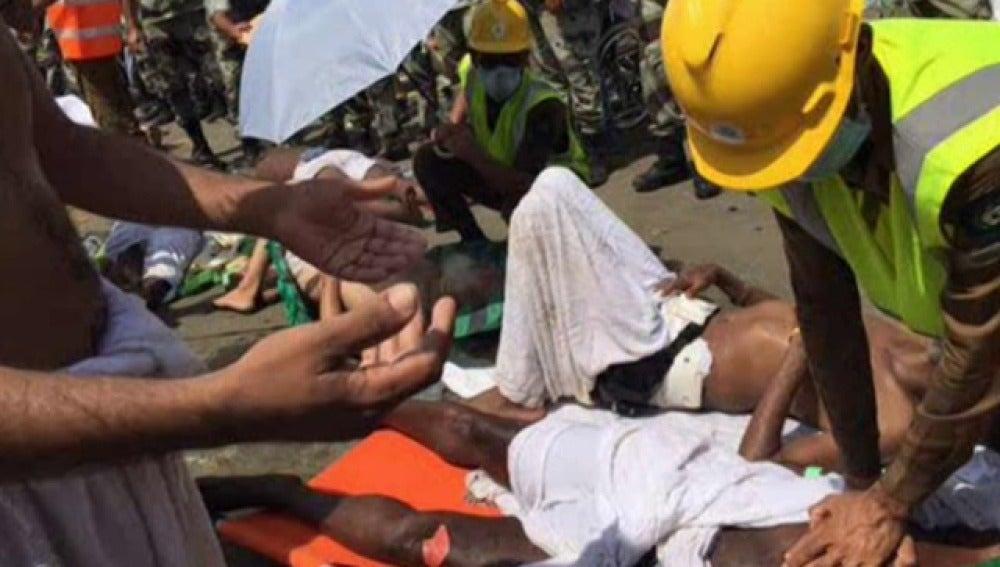 Al menos 220 muertos y 450 heridos por una avalancha en La Meca