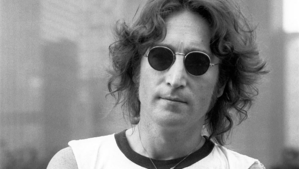 John Lennon, líder de la banda The Beatles