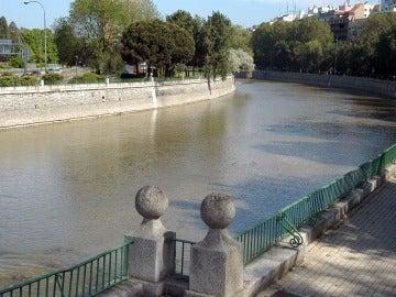 Río Manzanares, Madrid.