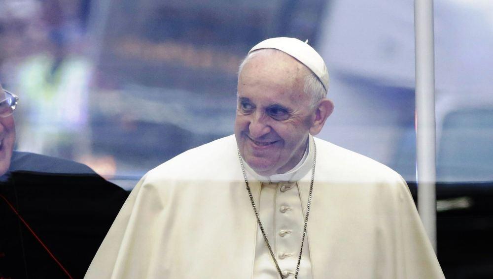 El papa Francisco en su visita a EEUU