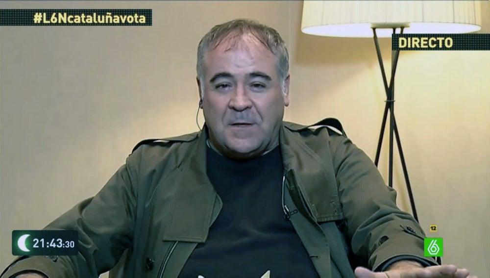 Antonio García Ferreras en laSexta noche