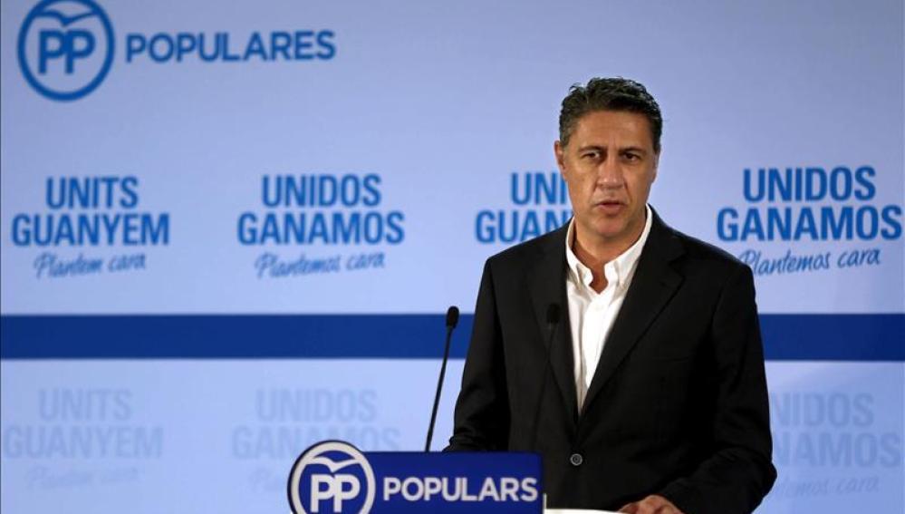 El candidato del PPC, Xavier Garcia Albiol
