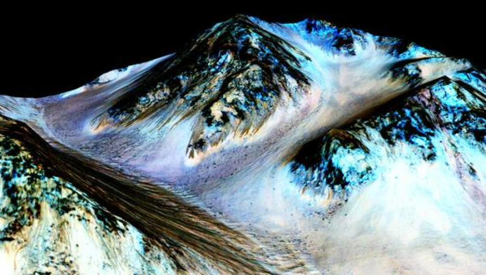La NASA confirma la existencia de agua líquida en Marte