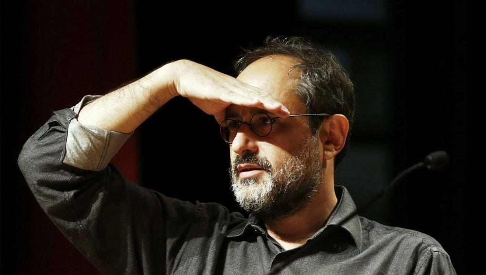 El candidato a la presidencia de la Generalitat por la CUP, Antonio Baños