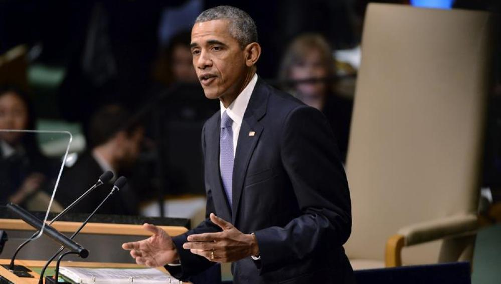 Barack Obama habla en la ONU