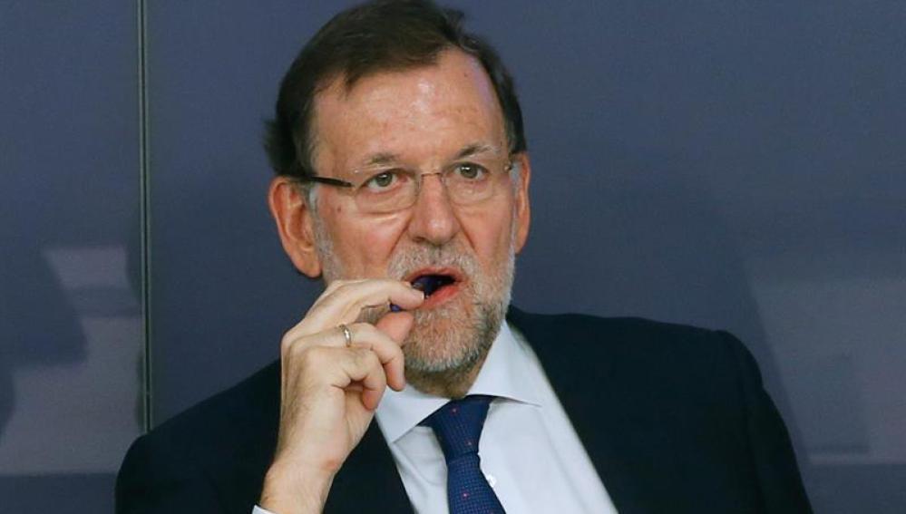 Mariano Rajoy, durante la reunión del Comité Ejecutivo Nacional de su partido