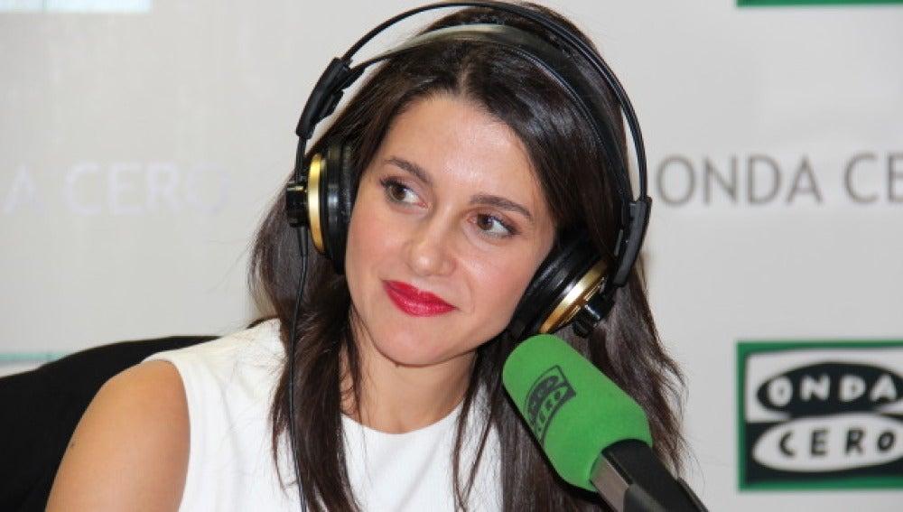Candidata de Ciudadanos a la Generalitat, Inés Arrimadas