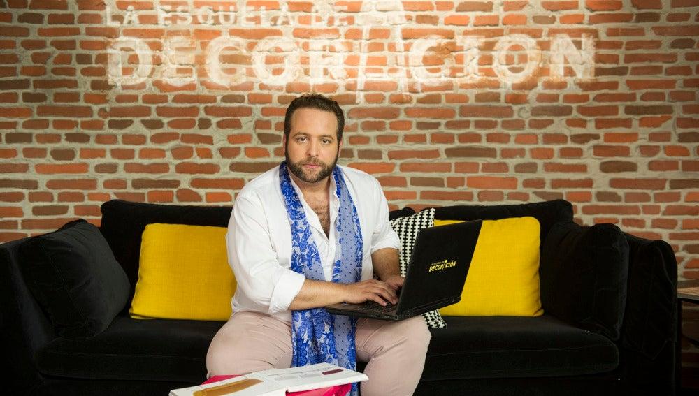 Aleix Alcaraz, coach de La Escuela de Decoración
