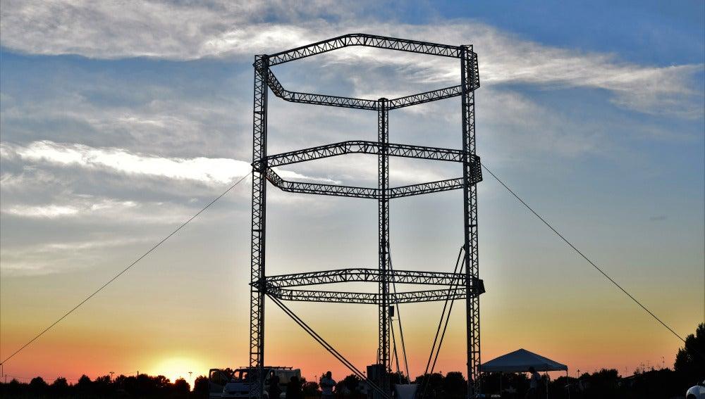 La impresora 3D más grande del mundo creará casas de arcilla