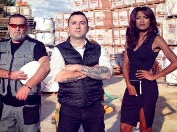 Eugenia, Antonio y Manuel forman el equipo de 'Constructor a la fuga'