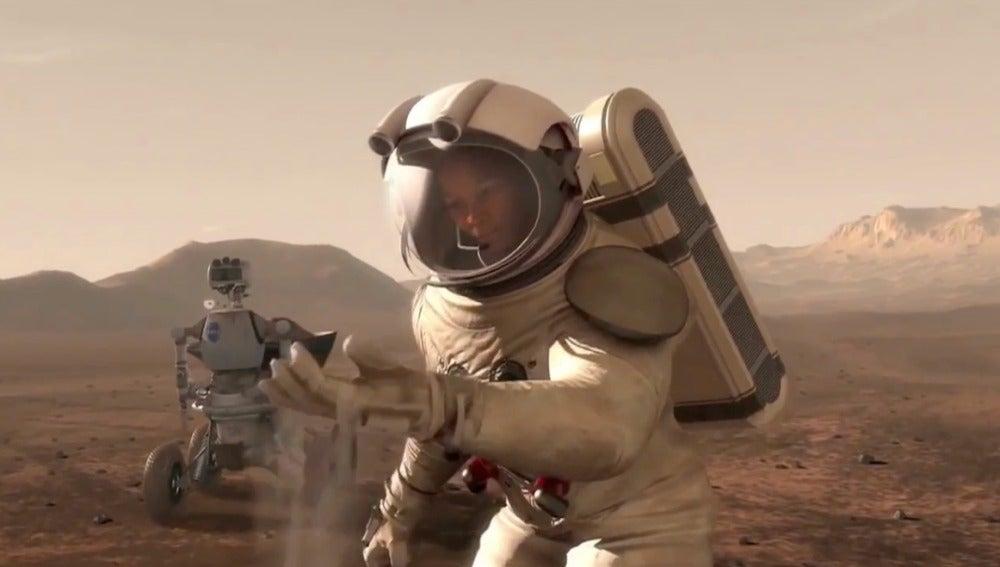 Un marciano en la NASA