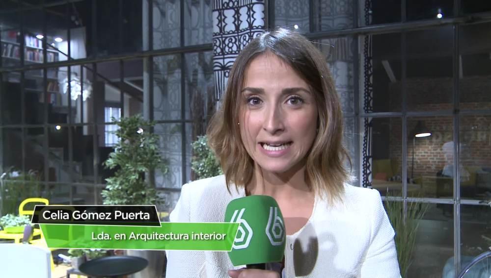 Celia Gómez, licenciada en Arquitectura Interior