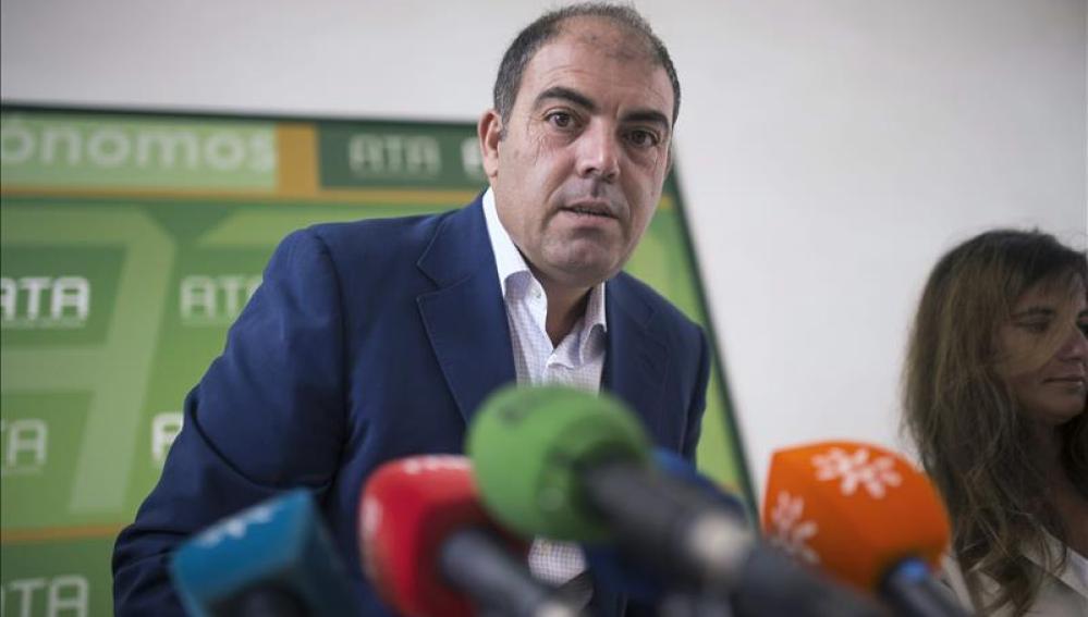 El presidente de la Federación Nacional de Trabajadores Autónomos, Lorenzo Amor