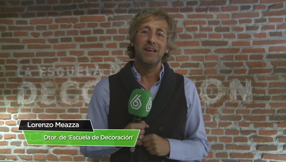 Lorenzo Meazza, director de 'La Escuela de Decoración'