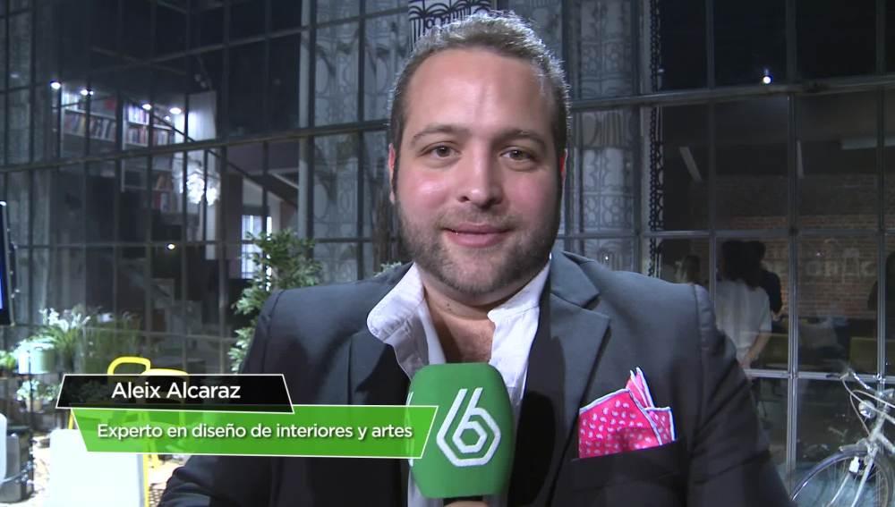 Aleix Alcaraz, experto en diseño de interiores y artes