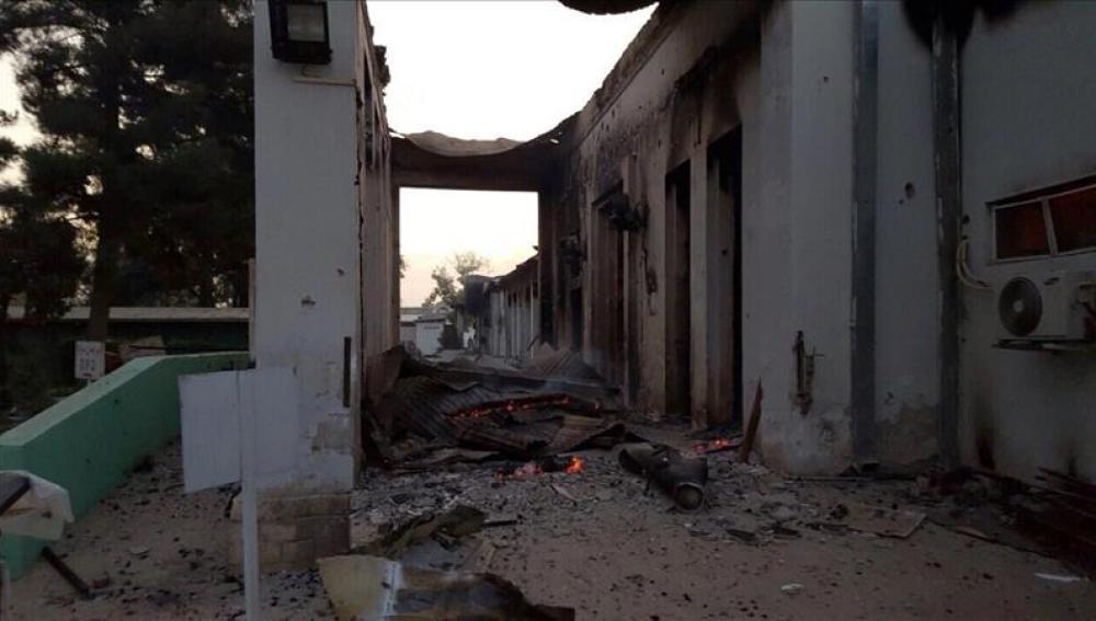 Ataque a un hospital de MSF en Afganistán