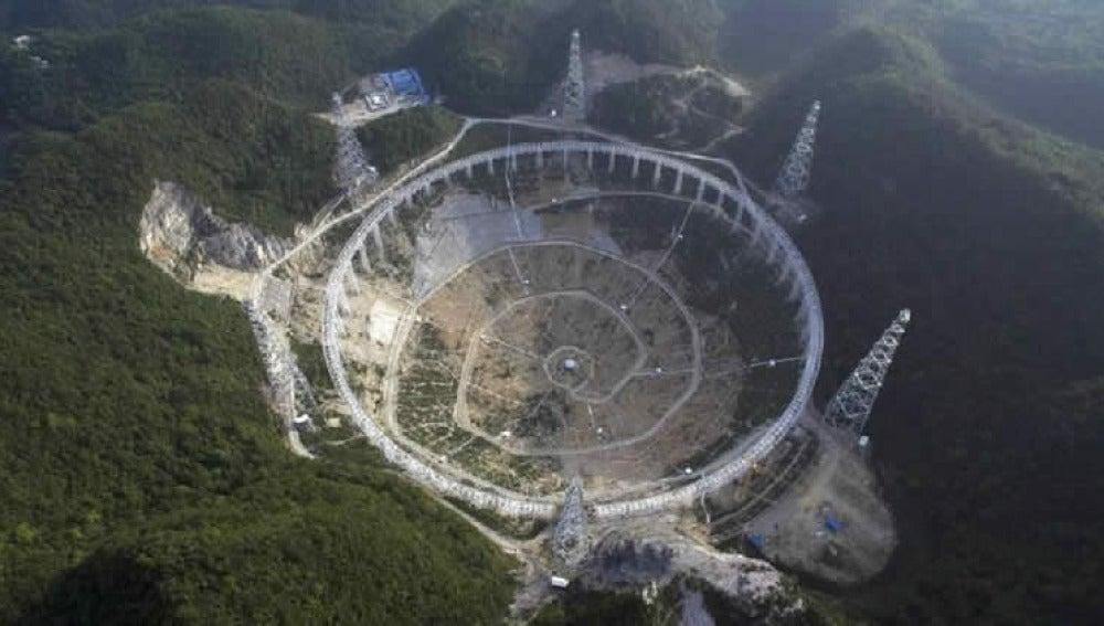 El radiotelescopio más grande del mundo