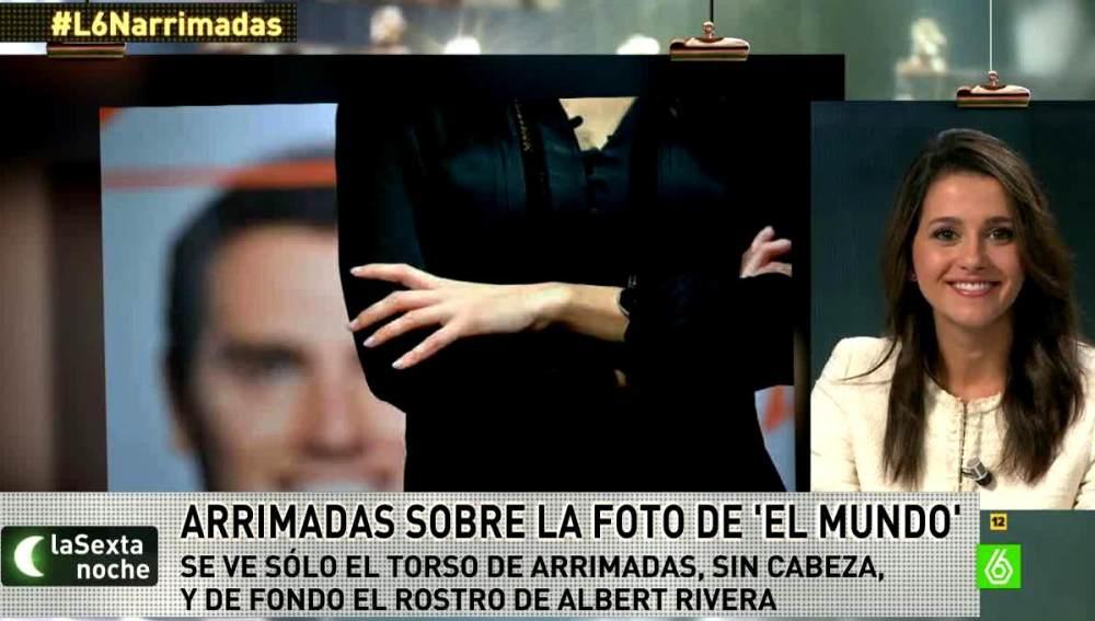 Inés Arrimadas, sobre su polémica foto