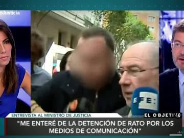 Rafael Catalá  habla sobre Rato