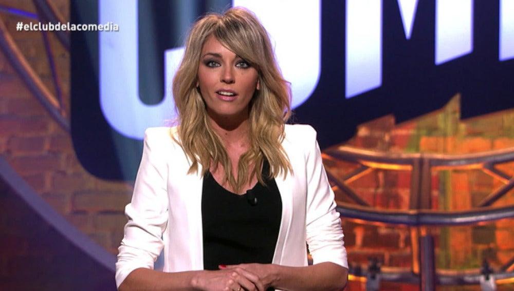 Anna Simon, en El Club de la Comedia
