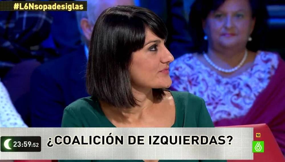 María González Veracruz en laSexta Noche