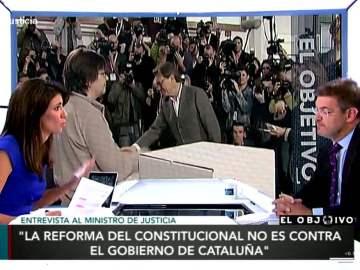 Rafael Catalá, sobre Cataluña