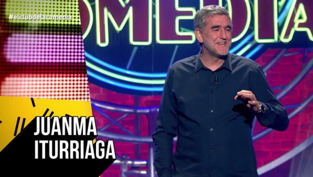 Juanma Iturriaga, en El Club de la Comedia