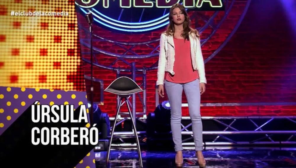 Úrsula Corberó, en El Club de la Comedia