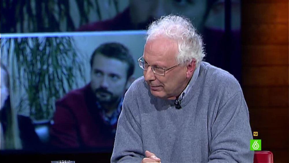 """Javier Sádaba, sobre el caso de Andrea: """"No sabemos por qué hay que pedir permiso para marcharse"""""""