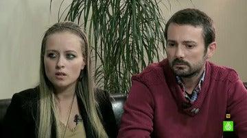 Estela Ordóñez y Antonio Lago, los padres de Andrea