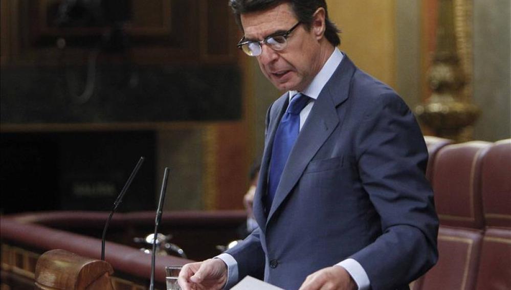 José Manuel Soria, ministro de Industria