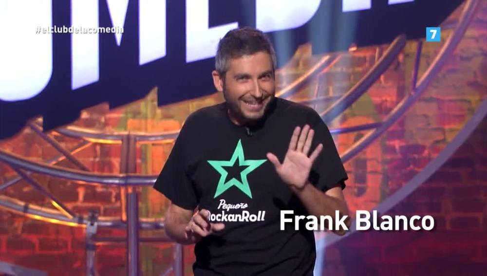 Frank Blanco, este domingo en El Club de la Comedia