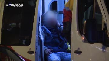 La Policía se atiende a un joven que sangre en la cara