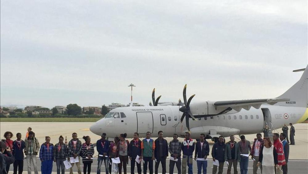 Los primeros solicitantes de asilo que serán recolocados en la Unión Europea